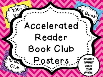 AR (Accelerated Reader) Book Club Posters
