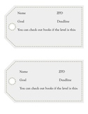 AR (Accelerated Reader) Book Mark for Students