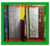 AR Accelerated Reader Class Sticker Graph