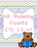 AR (Accelerated Reader) & Reading Counts Clip Chart