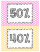 AR (Accelerated Reader) Clip Chart - Percentage of Goal Met