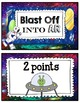 AR (Accelerated Reader) Clip Chart Tracker (Space Theme)