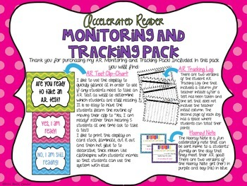 A.R. Accelerated Reader Monitoring and Tracking Pack!