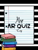AR (Accelerated Reader) Quiz Log with BONUS brag bracelet!