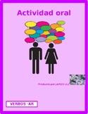 AR Activities / AR verbs in Spanish Partner Interview
