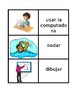 AR Activities in Spanish Concentration games