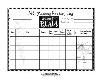 AR (Amazing Reader) Log, Seven Lines, 3-6