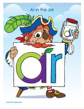 AR (Ar in the Jar) Word Buddy Poster