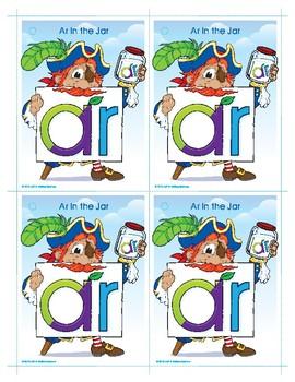 AR (Ar in the Jar) Word Buddy Card