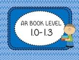 AR Book Bin Labels Accelerated Reader