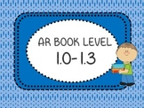 AR Book Bin Labels Accelerated Reader