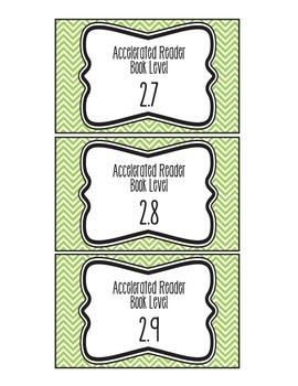 AR Book Bin Labels (Green)