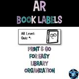AR Book Labels