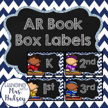 AR Book Box Labels (K-6th Grade)