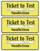 AR Bookmark Ticket to Test Organizer