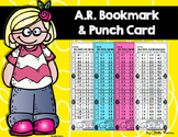 Accelerated Reader (AR) Bookmark and Punchcard