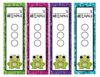 AR Bookmarks- Frog Theme