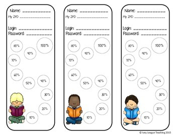 AR Bookmarks using Percent by 10's