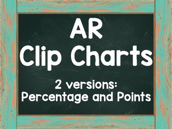 AR Clip Chart Blue Chalkboard