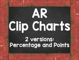 AR Clip Chart Red Chalkboard