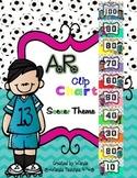 AR Clip Chart Soccer Theme with Bonus AR book bin labels -