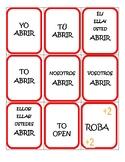 AR-ER-IR verb conjugation GAME (like uno)