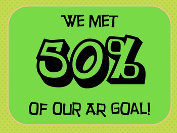 AR Goal Banner – Motivate Reading with Goals!