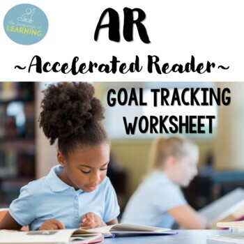 ar goal tracking chart for accelerated reader by the language of