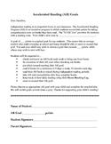 AR Goal Parent Letter