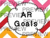 AR Goal Tracker Clip Chart