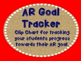 AR Goal Tracker - Burlap, Red, and Navy (Nautical)