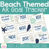 AR Goal Tracker Clip Chart - Beach Theme