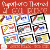 AR Goal Tracker Clip Chart - Superhero Theme