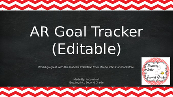 AR Goal Tracker (Editable)