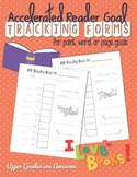 Accelerated Reader Goal Tracking Forms