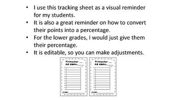 AR Goal Tracking Sheet