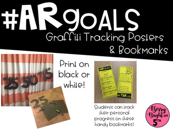 AR Graffiti Tracking Posters & Bookmarks