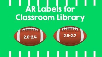 AR Labels Football Theme