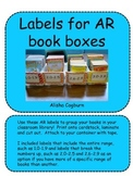 AR Labels for book boxes