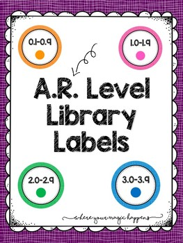 AR Level Library Labels