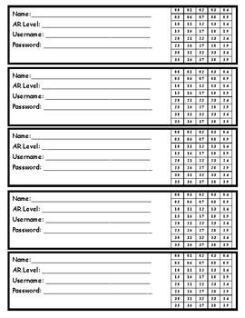 AR Level Range Bookmark