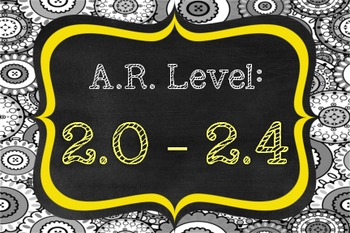 AR Leveled Books - Basket/ Shelf Labels