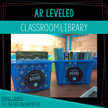 Editable AR Leveled Labels for Book Baskets