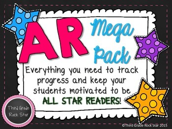 AR MEGA PACK ~ Chalkboard & Bright Theme