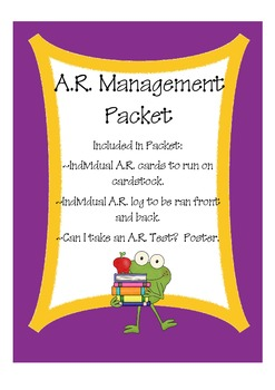 A.R. Management Packet