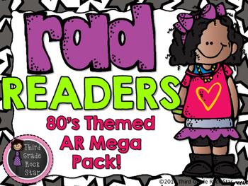 AR Mega Pack - 80's Theme!  {Rad Readers}