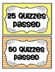 Accelerated Reader Mini Clip-Chart and Goal Pack {Chevron Multi}