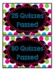 Accelerated Reader Mini Clip-Chart and Goal Pack - {Neon Chalkboard}