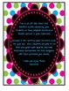Accelerated Reader Mini Clip-Chart and Goal Pack-Points Earned {Neon Chalkboard}