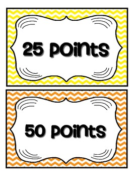 Accelerated Reader Mini Clip-Chart and Goal Pack - Points Tracker {Chevron}